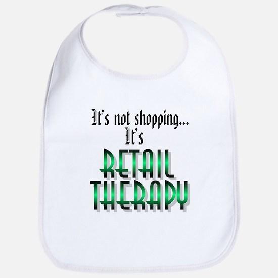 Retail Therapy Bib