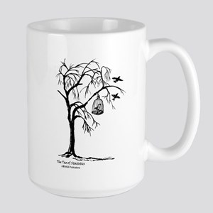 Bird in Cage Large Mug