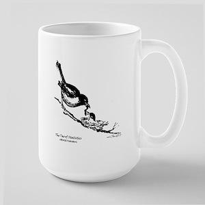 Bird Feeding - Tao of Statistics Large Mug