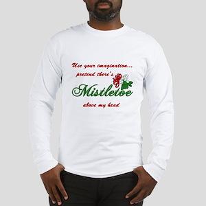 Imagine Mistletoe Long Sleeve T-Shirt