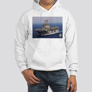 USS Wasp LHD 1 Hooded Sweatshirt