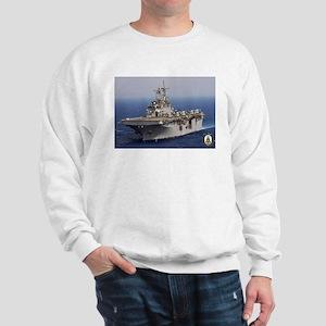 USS Wasp LHD 1 Sweatshirt