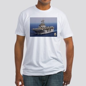 USS Wasp LHD 1 Fitted T-Shirt