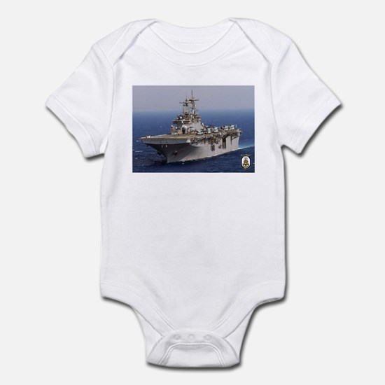 USS Wasp LHD 1 Infant Bodysuit