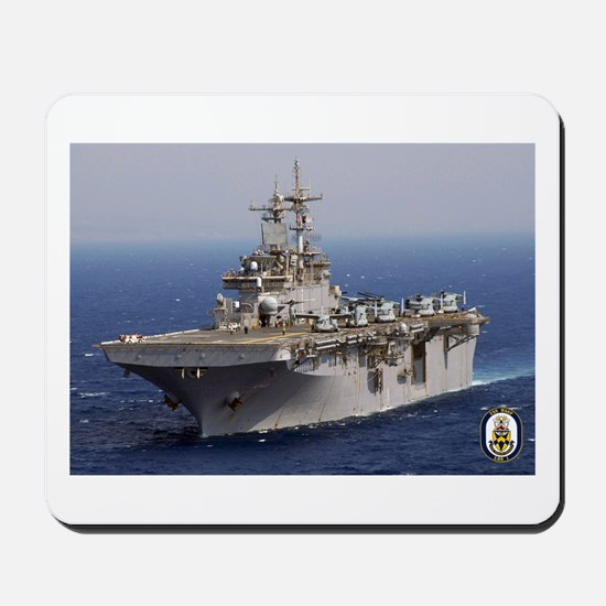 USS Wasp LHD 1 Mousepad
