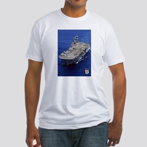 USS Essex LHD-2 Fitted T-Shirt