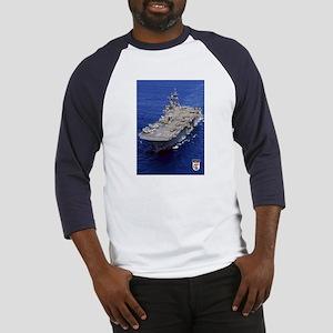 USS Essex LHD-2 Baseball Jersey