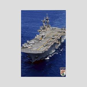 USS Essex LHD-2 Rectangle Magnet