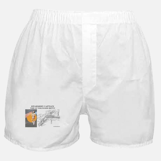 Starship Captain: Gunslinger  Boxer Shorts