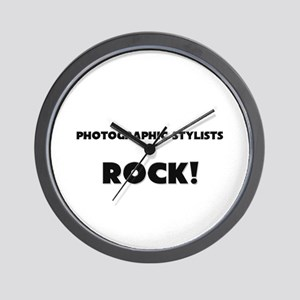 Photographic Stylists ROCK Wall Clock