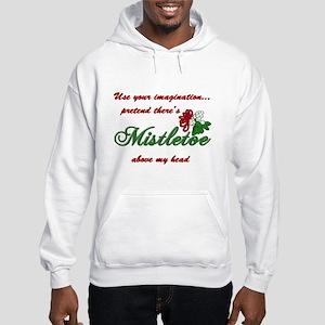 Imagine Mistletoe Hooded Sweatshirt