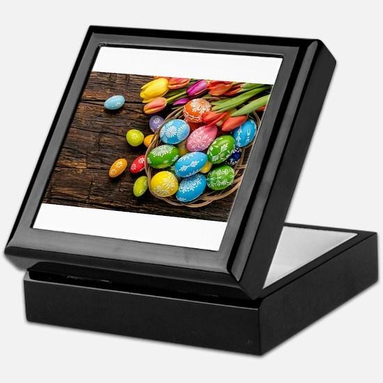 easter-eggs-colorful-tulips-wood-basket Keepsake B