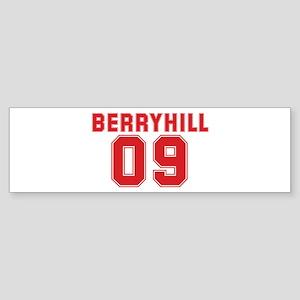 BERRYHILL 09 Bumper Sticker