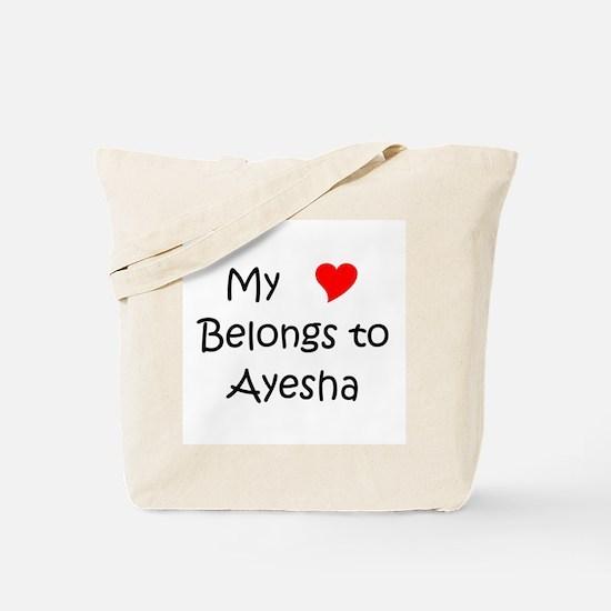 Cute My love belongs to laurice Tote Bag