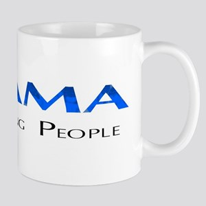 Obama: Connectiong People Mug
