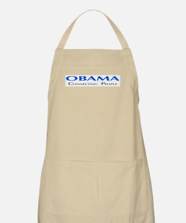 Obama: Connectiong People BBQ Apron