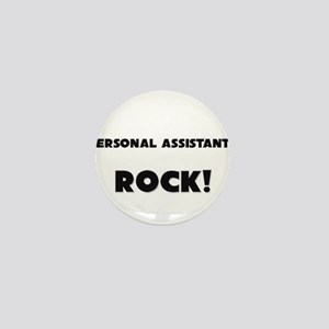 Personal Assistants ROCK Mini Button