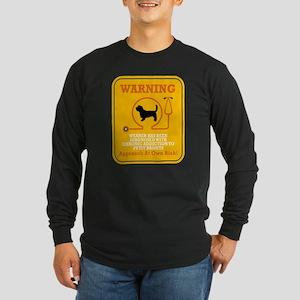 Petit Basset Griffon Vendeen Long Sleeve Dark T-Sh