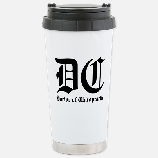 Doctor of Chiro Stainless Steel Travel Mug