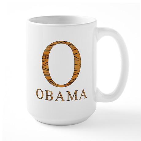 Tiger Obama O Large Mug