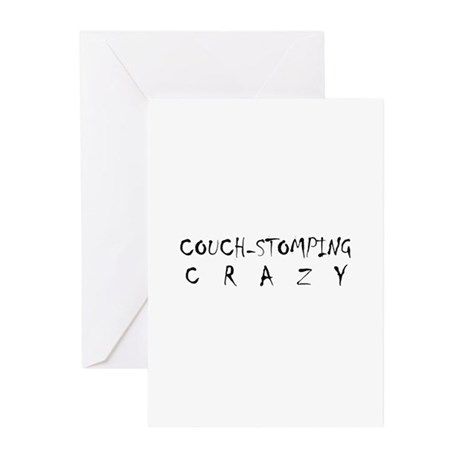 Couch Crazy Greeting Cards (Pk of 10)