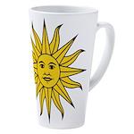 Sun Of May 17 Oz Latte Mug