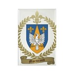 MORNEAULT Family Crest Rectangle Magnet
