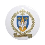 MORNEAULT Family Crest Ornament (Round)