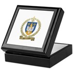 MORNEAULT Family Crest Keepsake Box