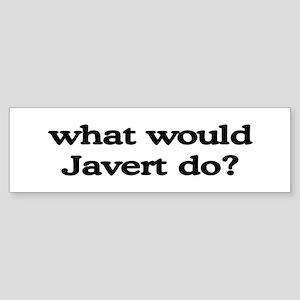 Javert Bumper Sticker