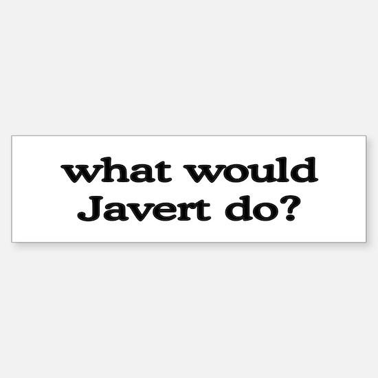 Javert Bumper Bumper Bumper Sticker