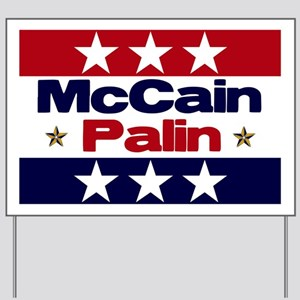 McCain Palin Yard Sign