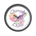 Chengdu, China Wall Clock