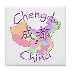 Chengdu, China Tile Coaster