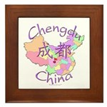 Chengdu, China Framed Tile