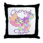 Chengdu, China Throw Pillow