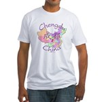 Chengdu, China Fitted T-Shirt