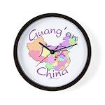Guang'an China Wall Clock