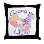 Guang'an China Throw Pillow