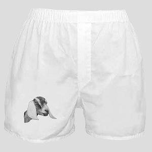 Nubian Goat Sketch Boxer Shorts