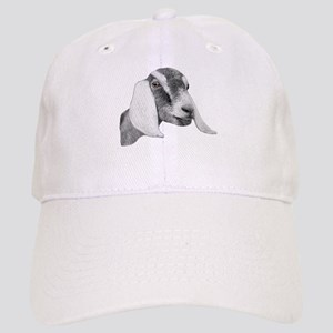 Nubian Goat Sketch Cap