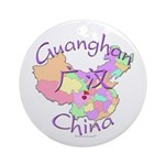 Guanghan China Ornament (Round)
