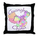 Guanghan China Throw Pillow