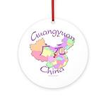 Guangyuan China Ornament (Round)