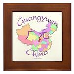 Guangyuan China Framed Tile