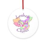 Leshan China Ornament (Round)