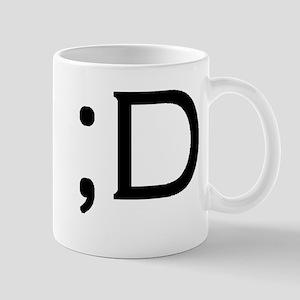 Computer Smiley wink Mug