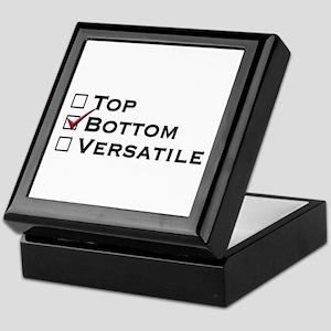 Bottom Keepsake Box