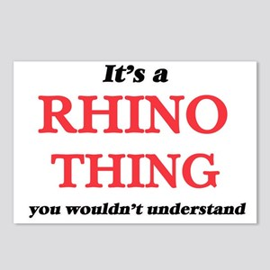 It's a Rhino thing, y Postcards (Package of 8)