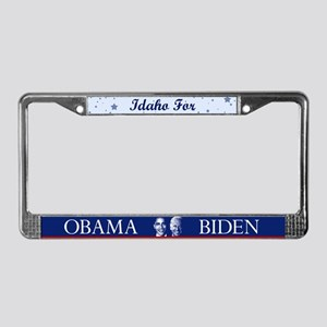 Idaho for Obama License Plate Frame